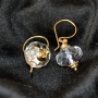 Earrings/fgsilver/stone/136/006