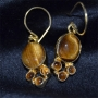 Goldplated Silver/w Tiger Eye